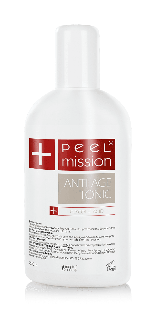 TONIK PEEL MISSION - ANTI AGE
