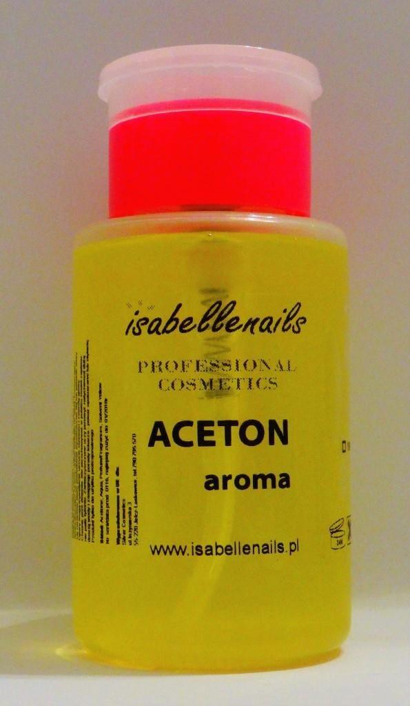 Aceton do zmywania paznokci o zapachu melona