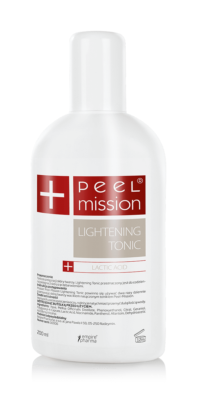 TONIK PEEL MISSION - LIGHTENING