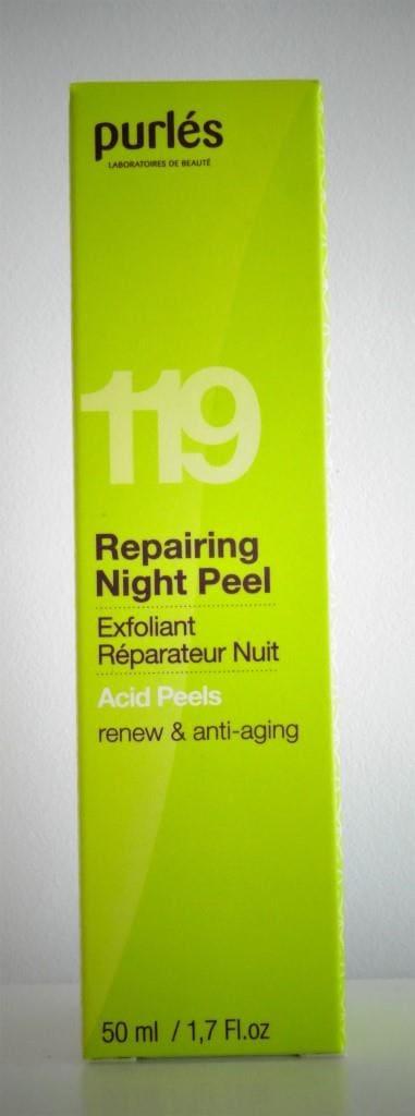 Krem odmładzający eksfoliujący PURLÉS REPAIRING NIGHT PEEL 119