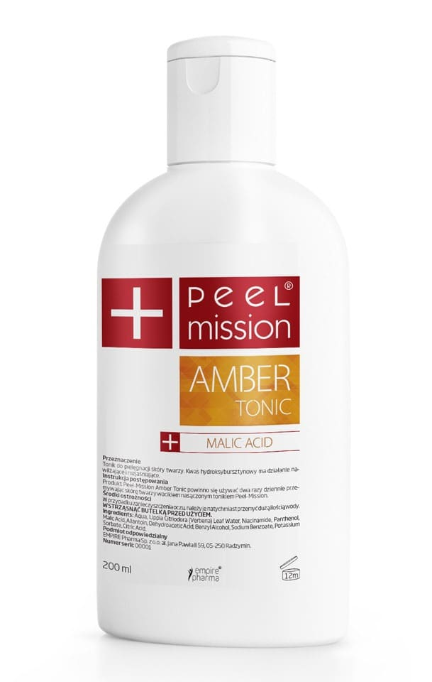TONIK PEEL MISSION - AMBER TONIC